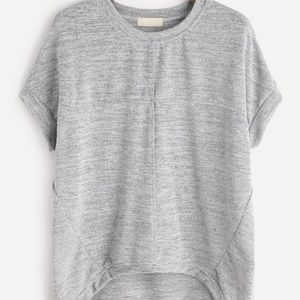 Tops - HIGH LOW MARLED T-SHIRT